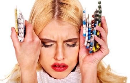 Аллергия и болит горло и температура